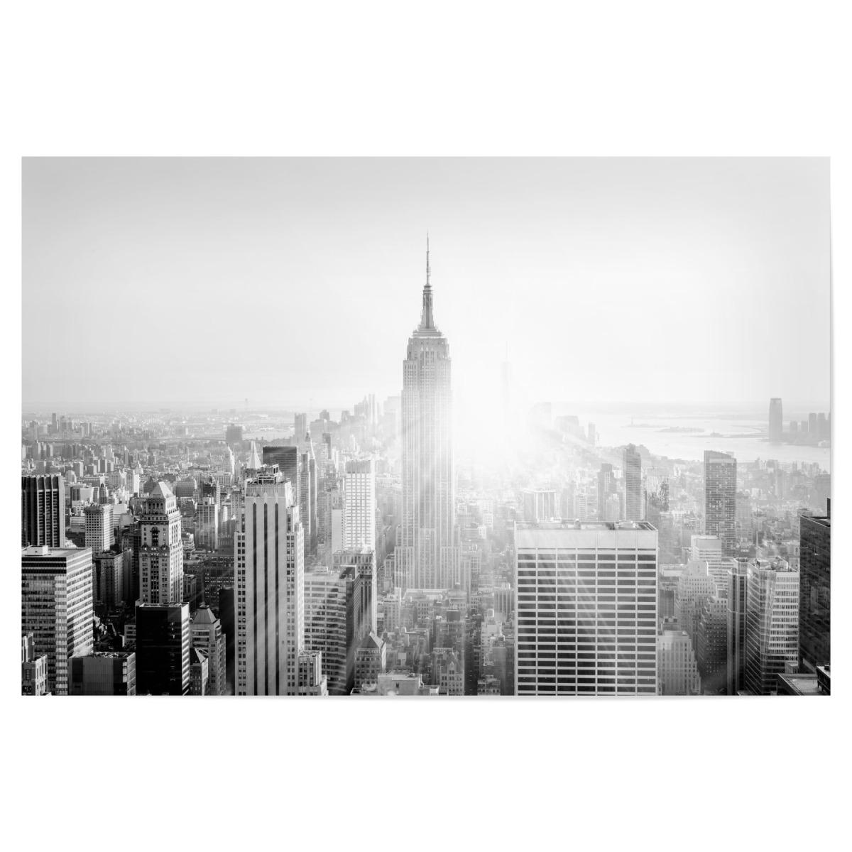 New York Skyline Black White Als Poster Bei Artboxone Kaufen