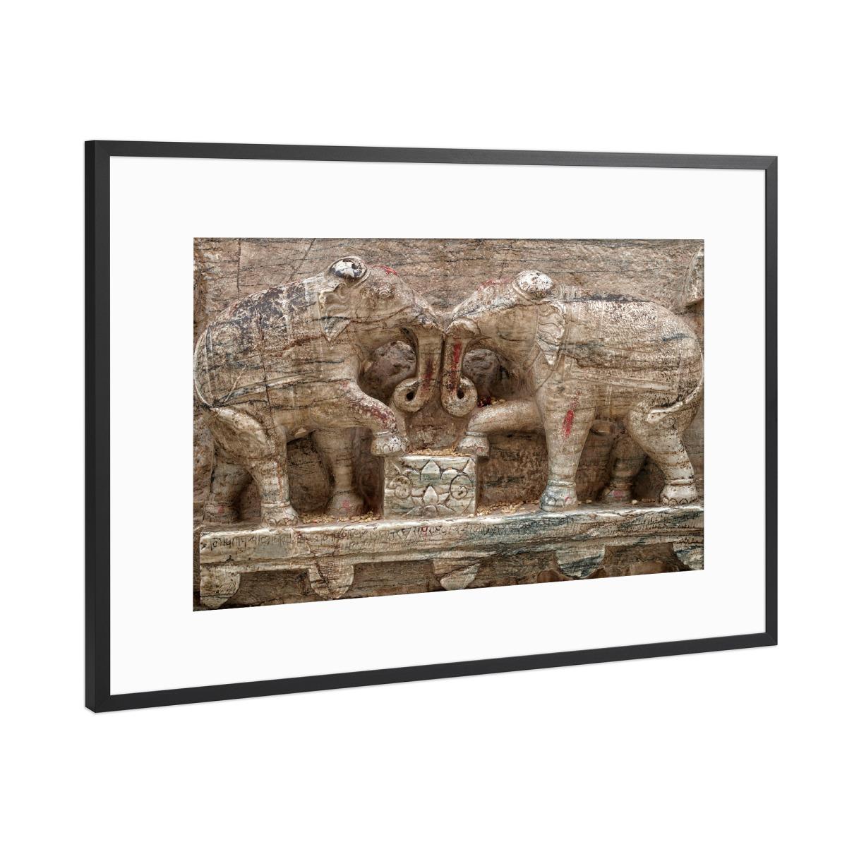 Hindu Elefanten als Gerahmt bei artboxONE kaufen