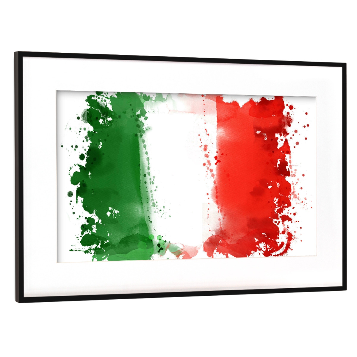Flagge Italien als Gerahmt bei artboxONE kaufen