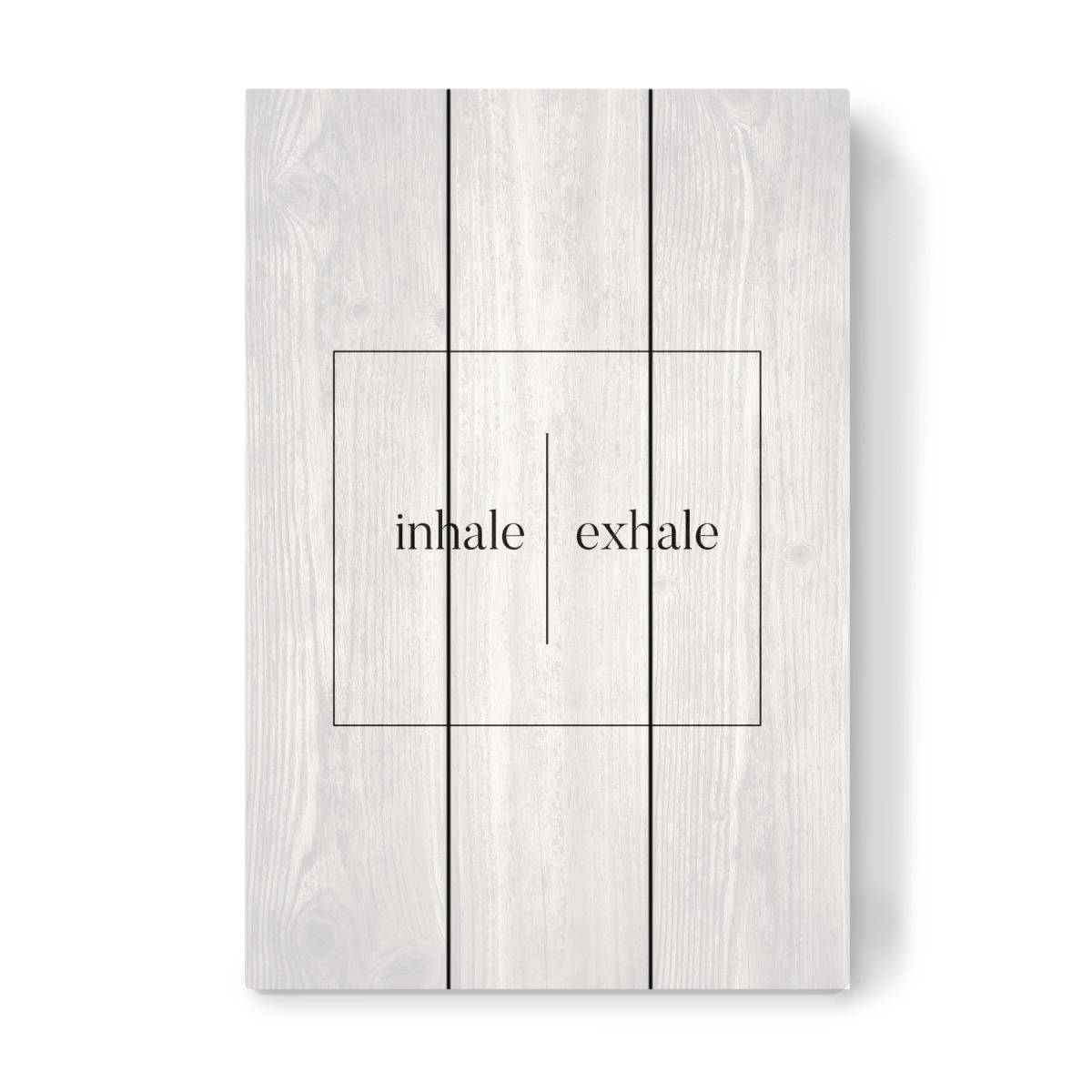 Inhale Exhale Als Holzbild Bei Artboxone Kaufen Inhalation And Exhalation Diagram Image