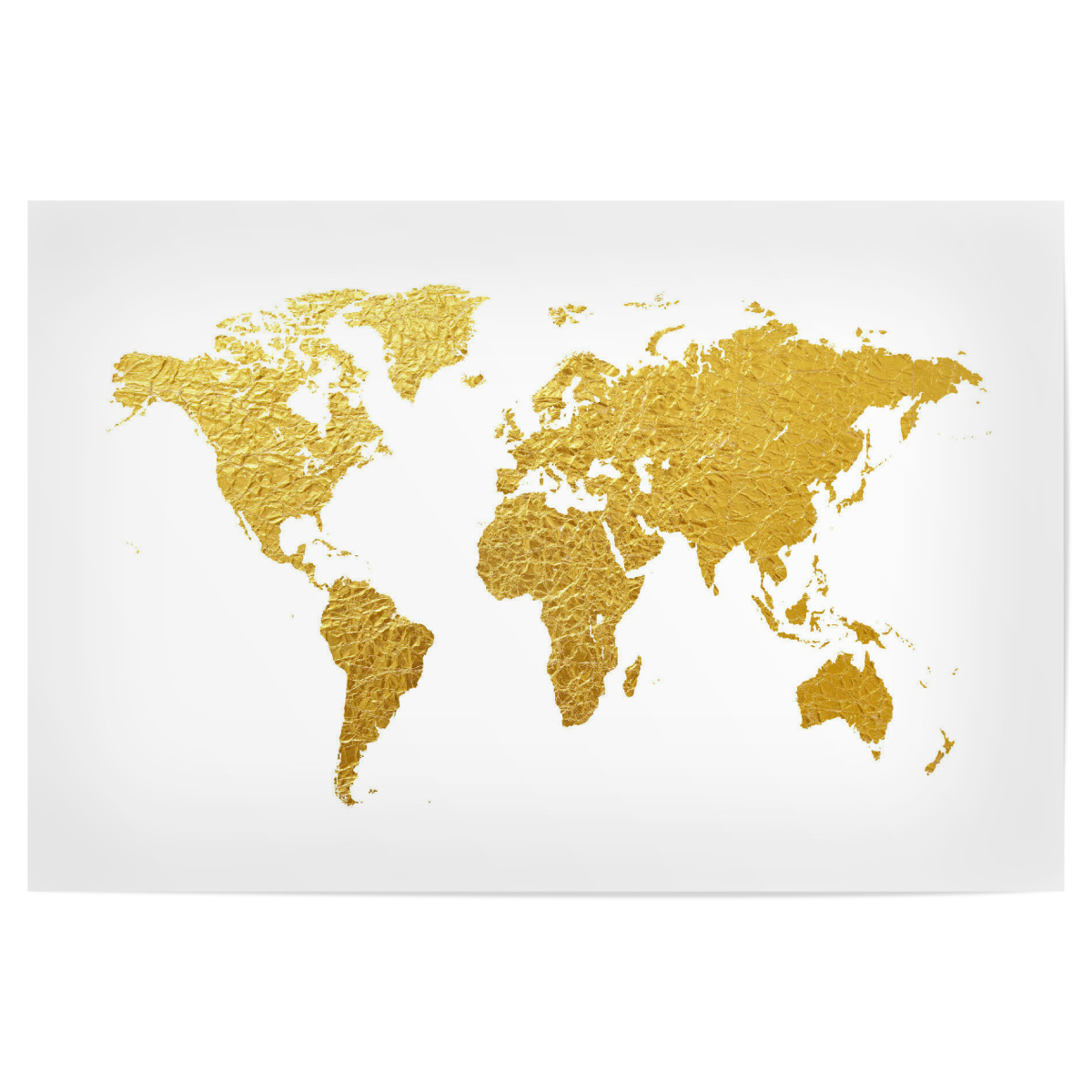 Purchase the world map gold as a poster at artboxone image gumiabroncs Choice Image