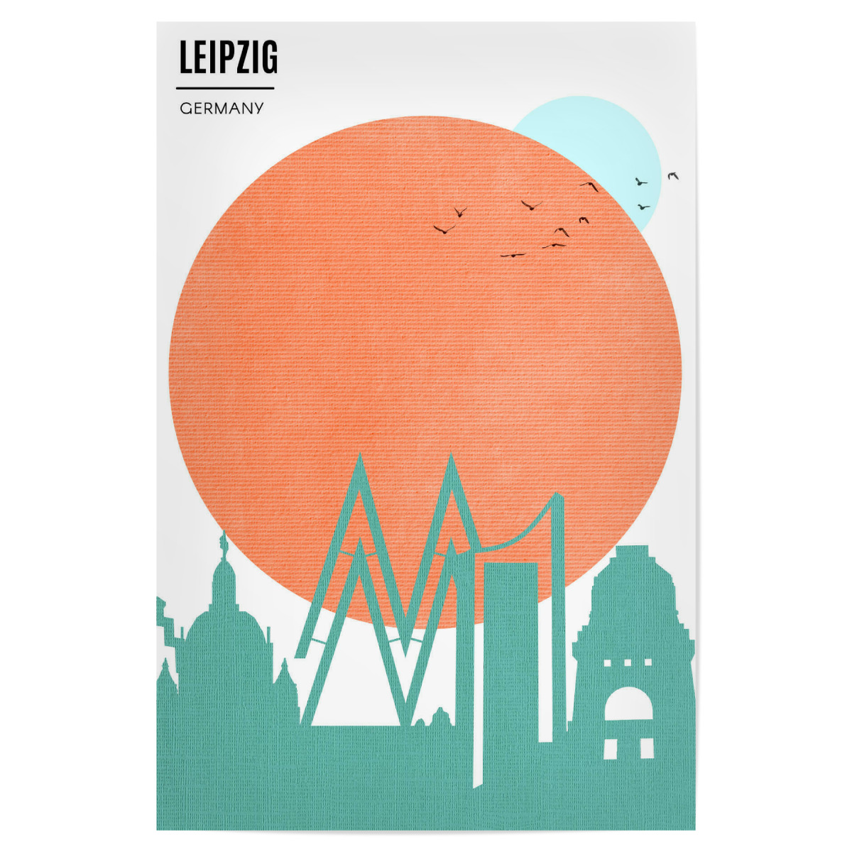 Leipzig Sunrise Als Poster Bei Artboxone Kaufen