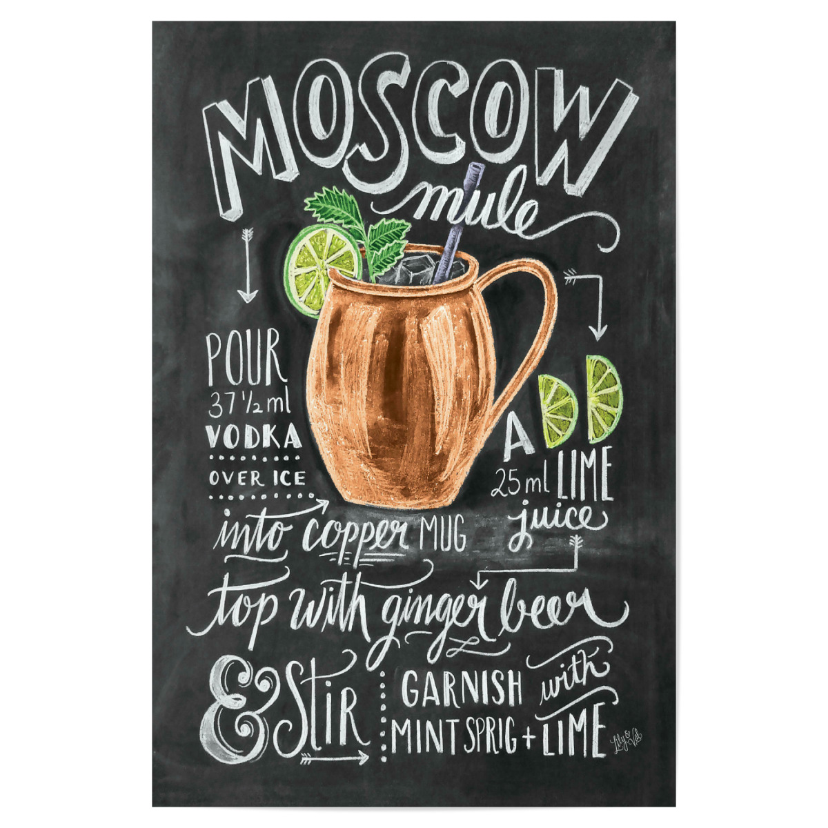 Moscow Mule als Poster bei artboxONE kaufen
