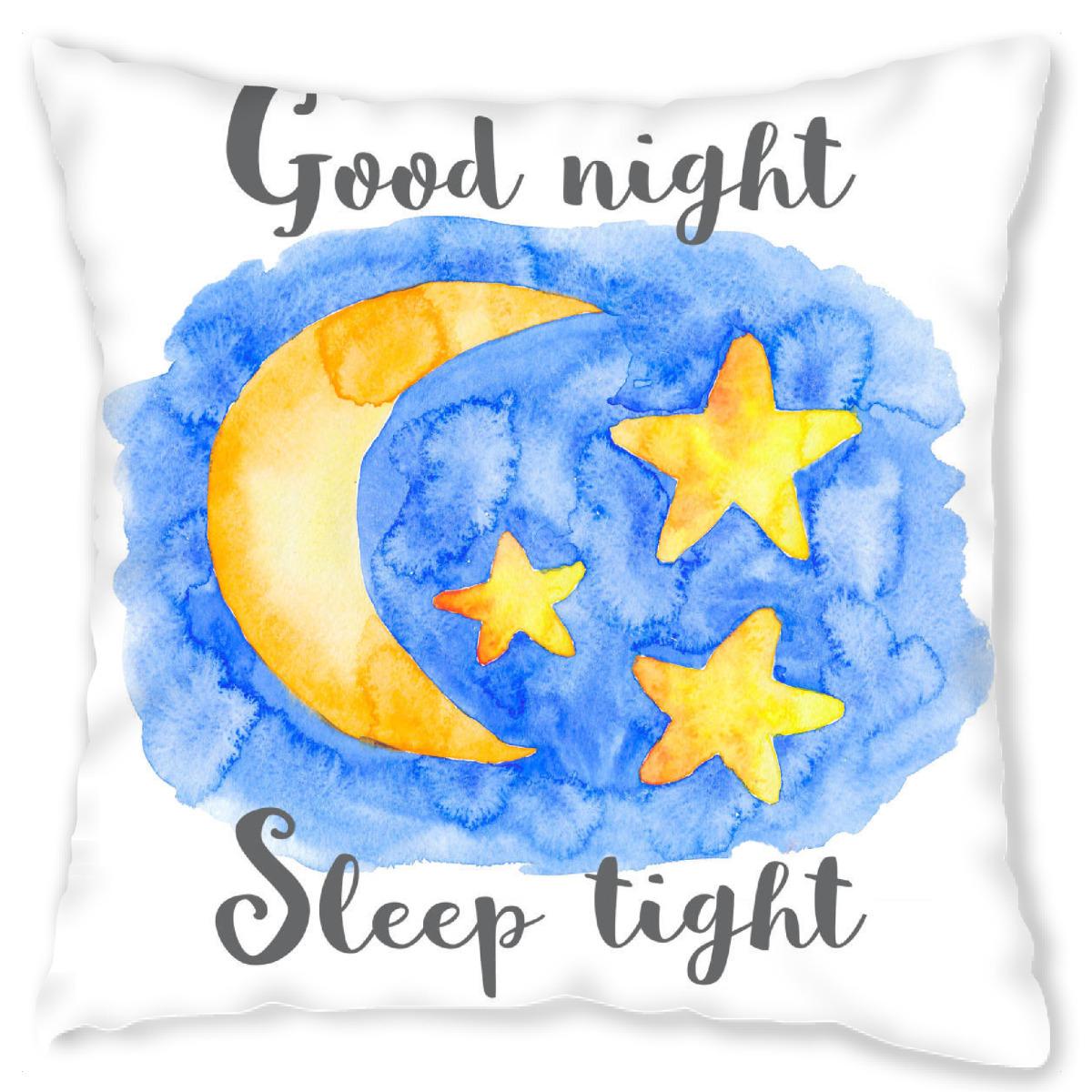 Good Night Sleep Tight (40x40 cm)