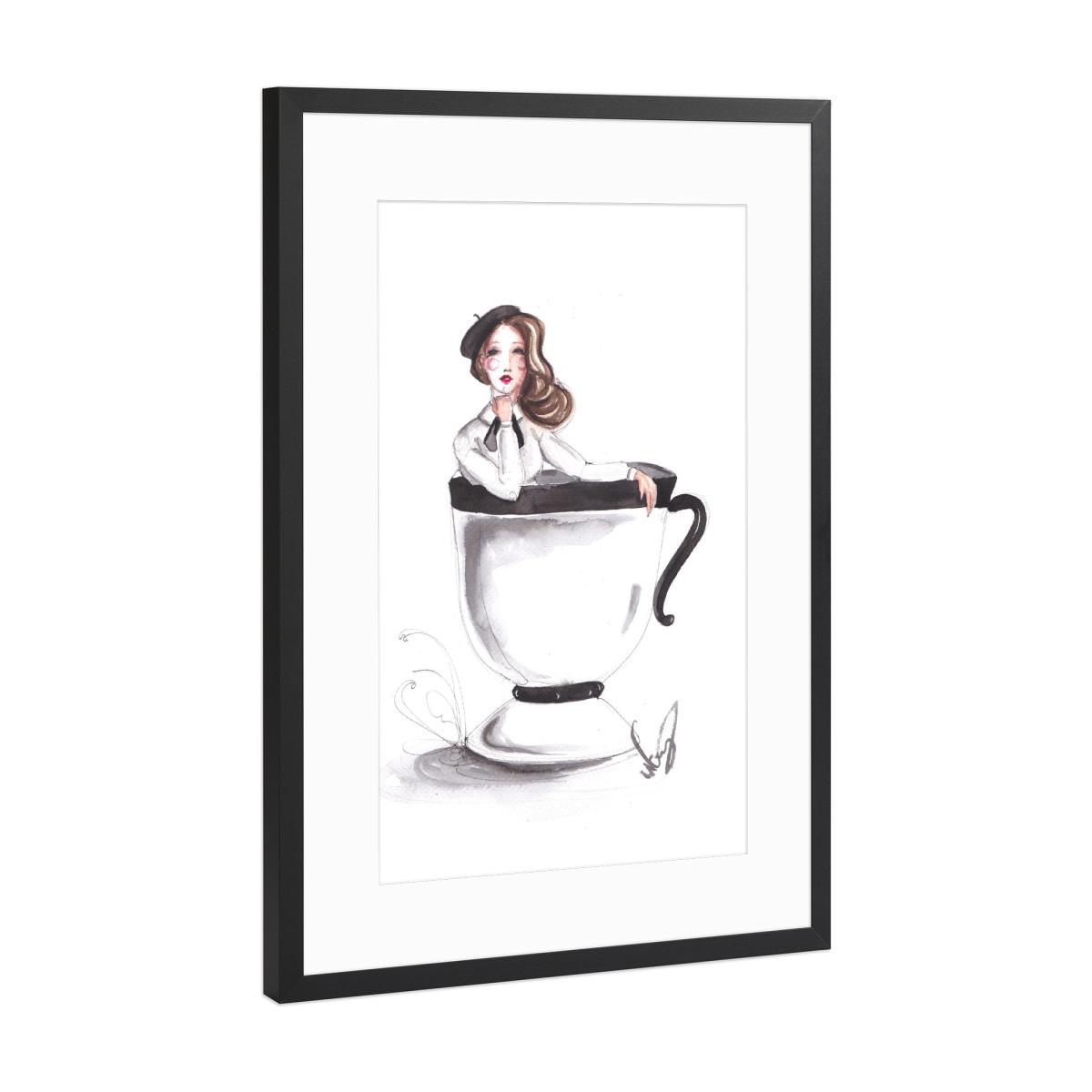 Coffee Bath als Gerahmt bei artboxONE kaufen