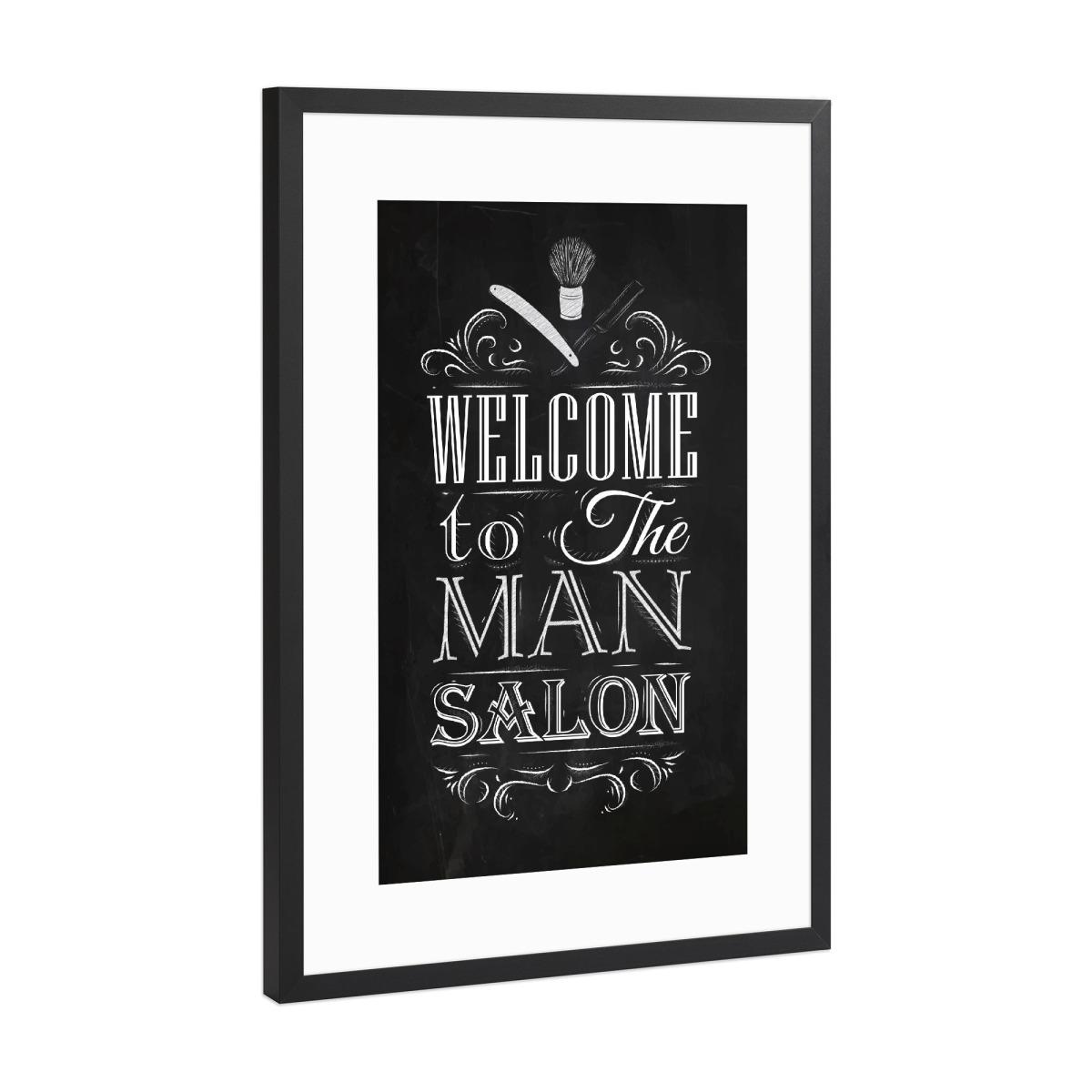 Barber Shop II als Gerahmt bei artboxONE kaufen