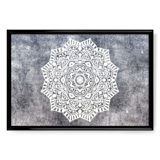 Fancy Boho Mandala Poster