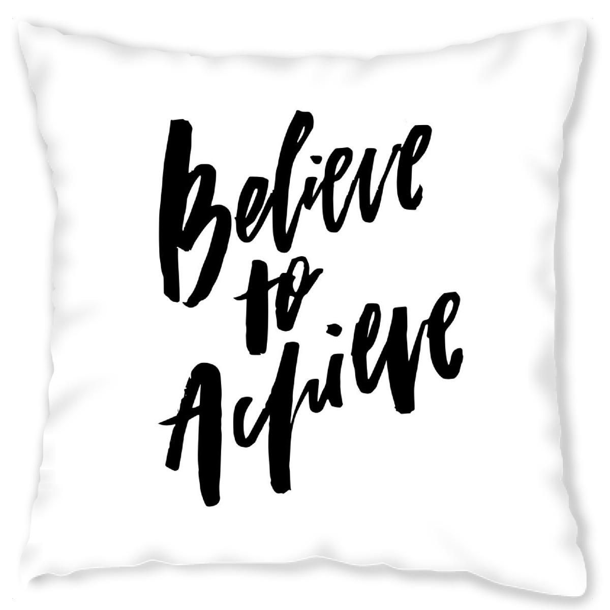 Believe To Achieve als Kissen bei artboxONE kaufen