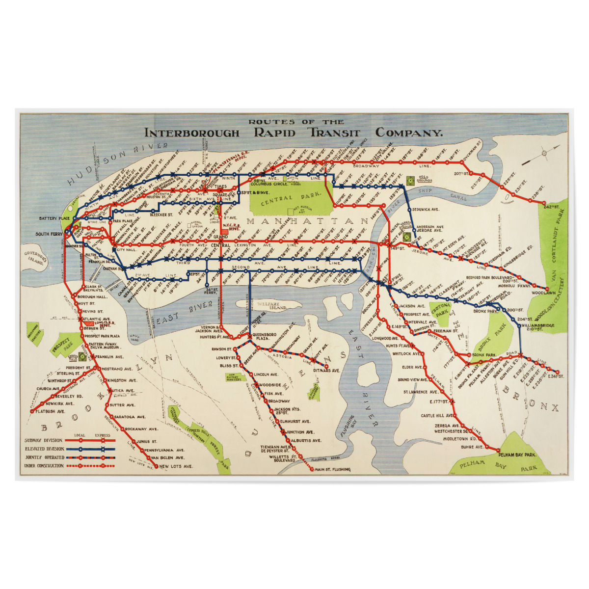 How To Purchase A Good New York City Subway Map.Purchase The New York City Metro Subway Map As A Poster At Artboxone