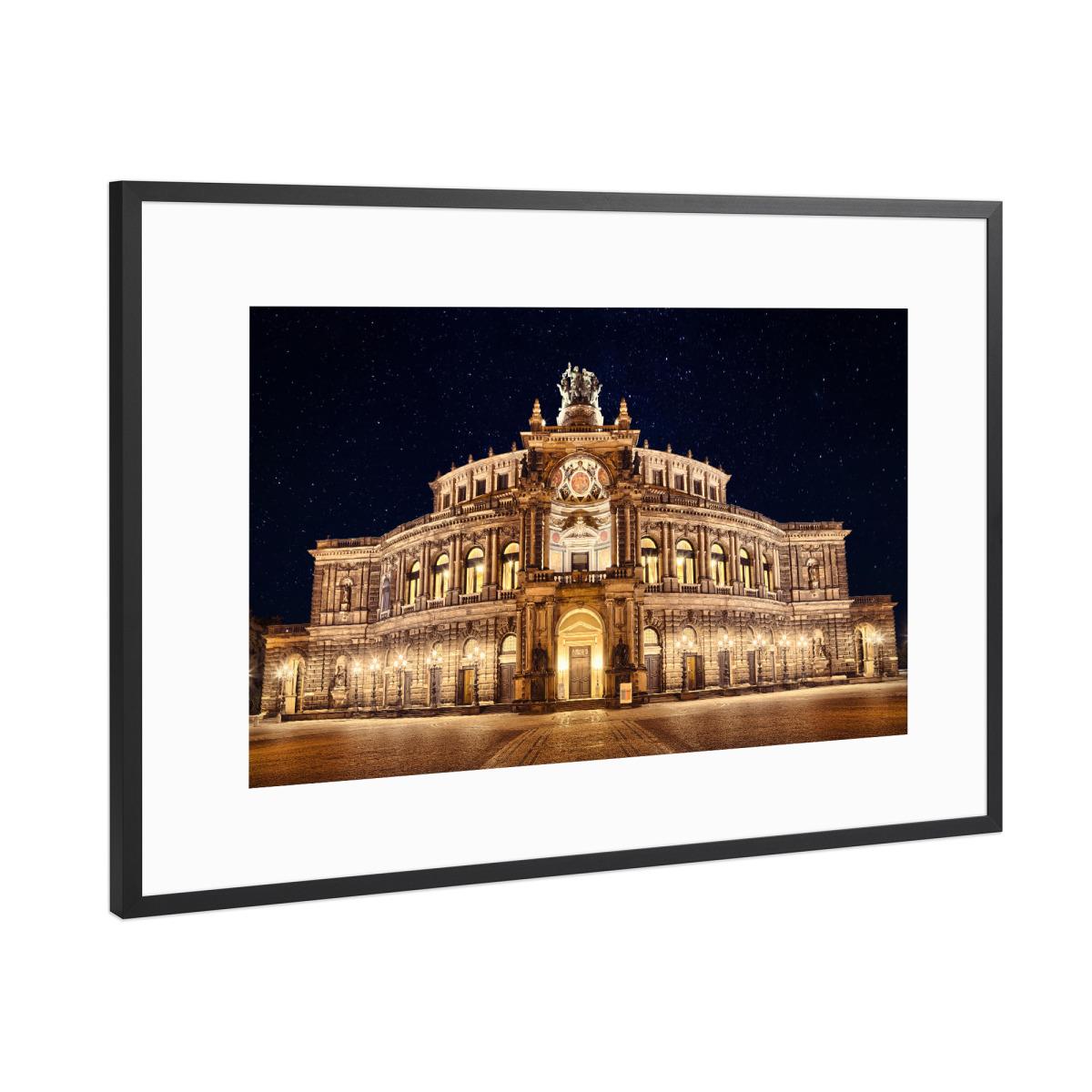 Semperoper Dresden als Gerahmt bei artboxONE kaufen