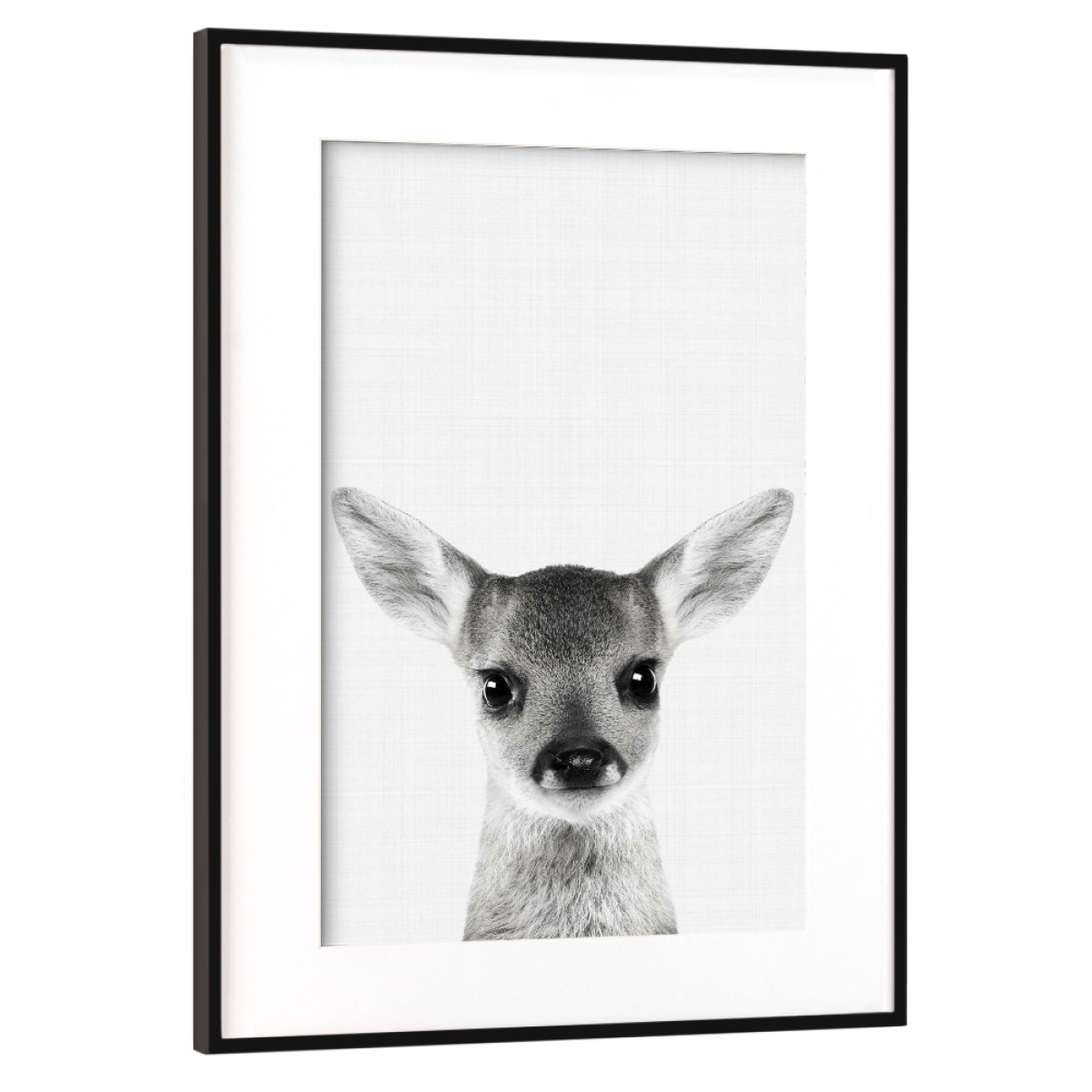 Purchase the Deer (Fawn) Portrait as a Frame at artboxONE