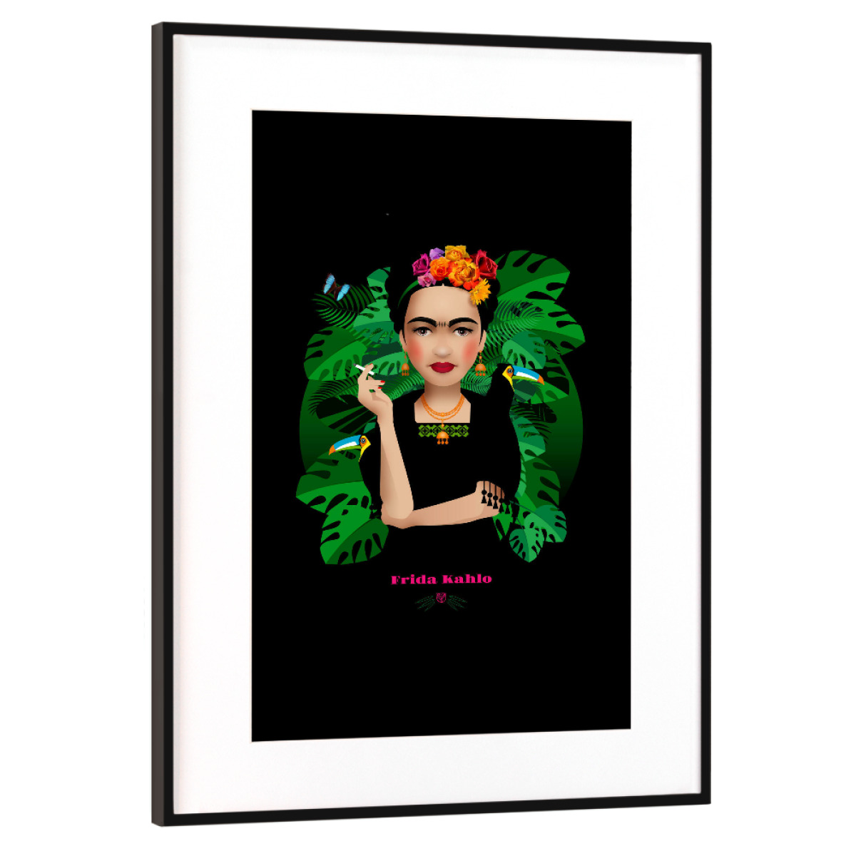 Frida Kahlo als Gerahmt bei artboxONE kaufen