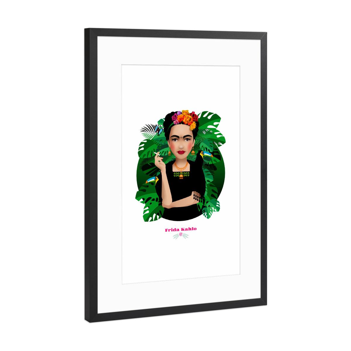 Purchase the Frida Kahlo as a Frame at artboxONE