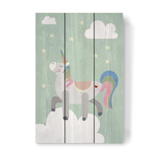 posh unicorn als poster bei artboxone kaufen. Black Bedroom Furniture Sets. Home Design Ideas