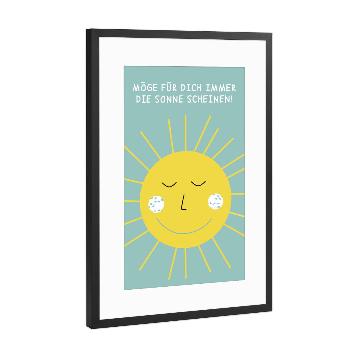 Sonne als Gerahmt bei artboxONE kaufen