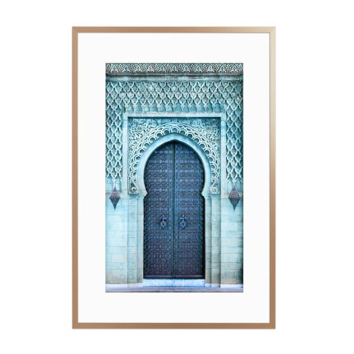 Royal Entrance Gerahmt