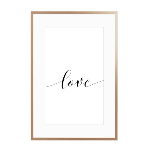 Love x Gerahmt