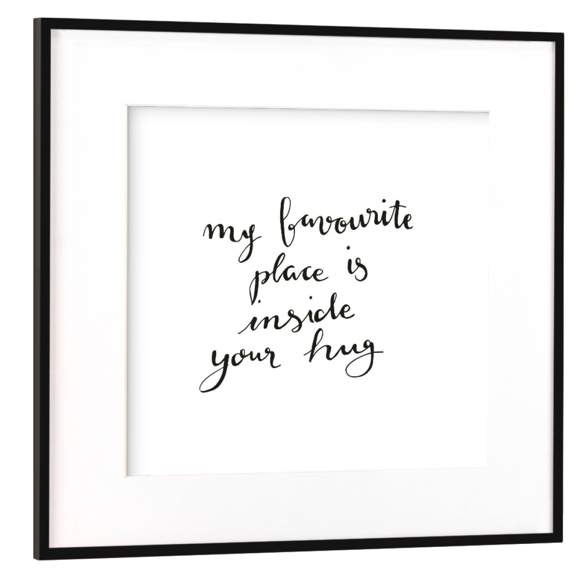 Purchase the Favourite Place as a Frame at artboxONE