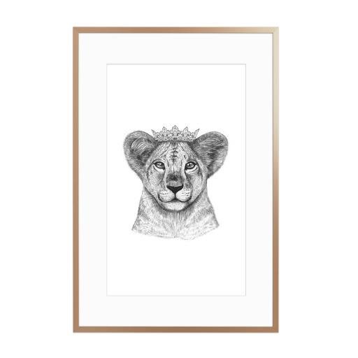 The Lion Princess Gerahmt