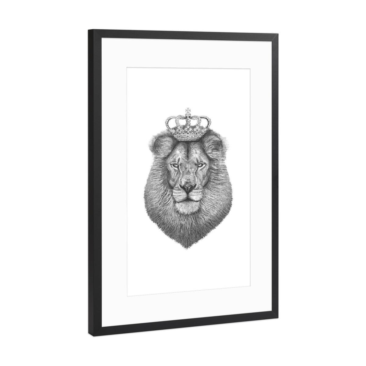The King als Gerahmt bei artboxONE kaufen