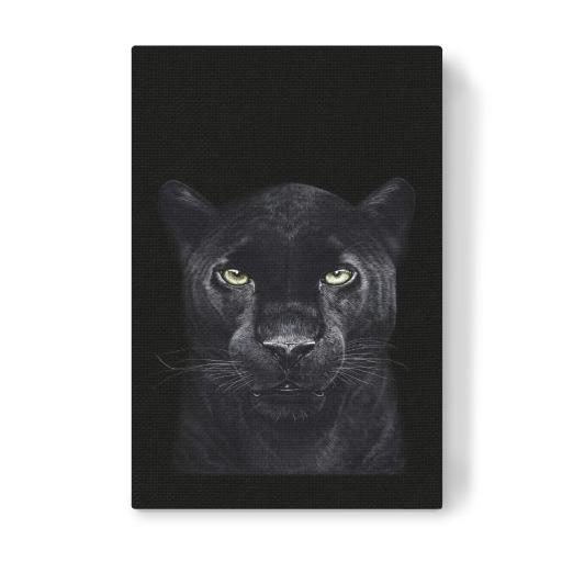 black panther on black als poster bei artboxone kaufen. Black Bedroom Furniture Sets. Home Design Ideas