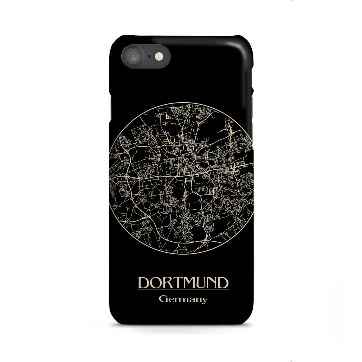 Dortmund On Map Of Germany.Purchase The Dortmund Germany Retro Map As A Case At Artboxone